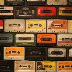 cassette wall decor